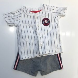 Carter's Baby Boy Baseball Outfit 12M